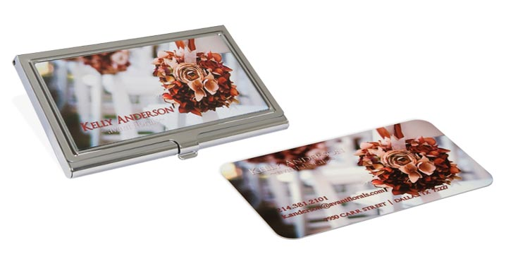 Business cards cases at full color reheart Gallery